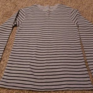 Children's Place Shirts & Tops - NWOT Grey & Black Thermal